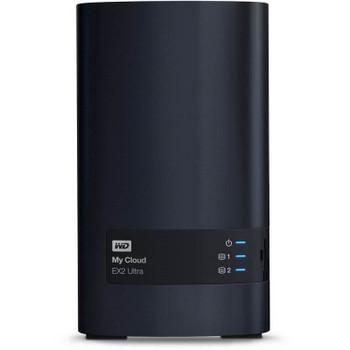 Western Digital WD My Cloud EX2 Ultra 2-Bay 24TB Hotswap NAS 1.3GHz Dual-Core 1GB RAM Product Image 2