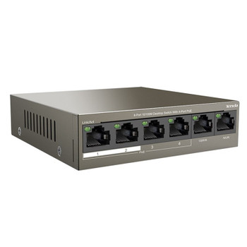 Tenda TEF1106P-4-63W 6-Port 10/100Mbps Switch with 4-Port PoE Product Image 2