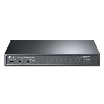 TP-Link TL-SL1311MP 8-Port PoE+ 10/100Mbps + 3-Port Gigabit Desktop Switch Main Product Image