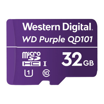 Western Digital WD Purple 32GB microSDHC Class 10 U1 Memory Card Main Product Image
