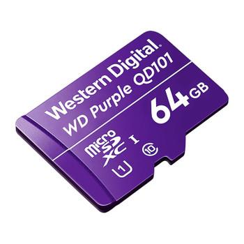 Western Digital WD Purple 64GB microSDXC Class 10 U1 Memory Card Product Image 2