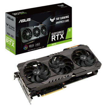 Asus GeForce RTX 3070 TUF Gaming 8GB Video Card Main Product Image
