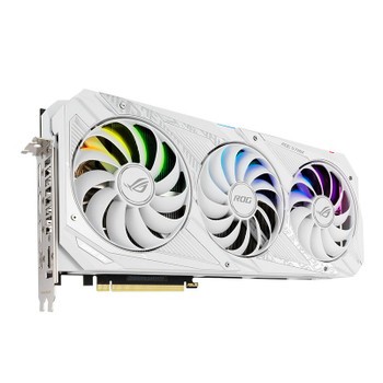 Asus GeForce RTX 3090 ROG Strix Gaming 24GB Video Card - White Edition Product Image 2