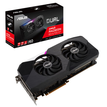 Asus Radeon RX 6700 XT Dual 12GB Video Card Main Product Image