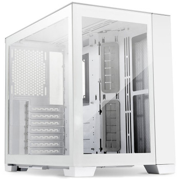 Lian Li PC-O11 Dynamic Tempered Glass Mini Tower Case - Snow Edition Main Product Image