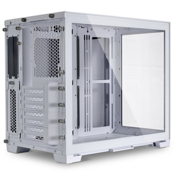 Lian Li PC-O11 Dynamic Tempered Glass Mini Tower Case - Snow Edition Product Image 2