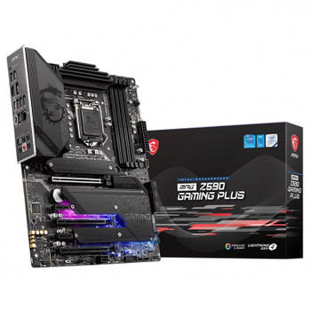 MSI MPG Z590 GAMING PLUS Intel LGA 1200 ATX Motherboard Main Product Image