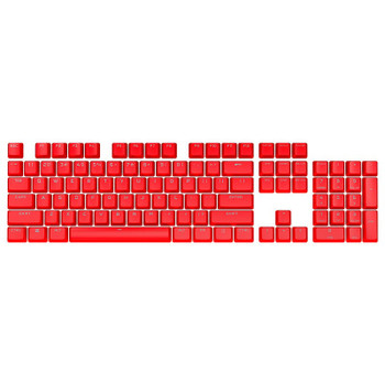 Corsair PBT DOUBLE-SHOT PRO Keycap Mod Kit - Origin Red Main Product Image