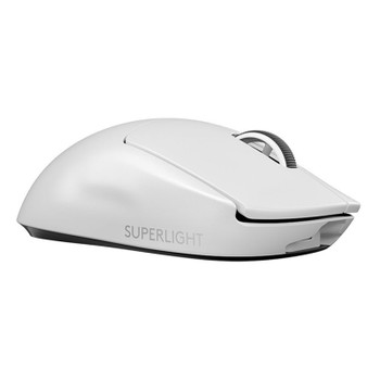 Logitech G PRO X SUPERLIGHT Wireless Gaming Mouse - White Product Image 2