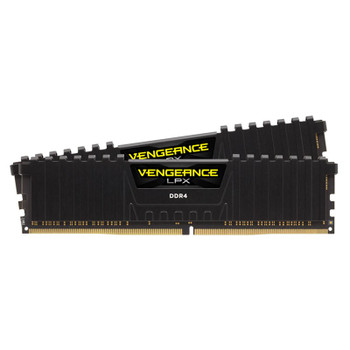 Corsair Vengeance LPX 32GB (2x 16GB) DDR4 3200MHz Memory - Black Main Product Image