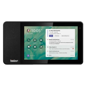 Lenovo ThinkSmart View 8in HD Multi-Touch Smart Display for Microsoft Teams Main Product Image