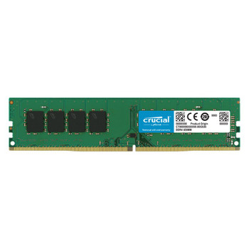 Crucial 32GB (1x 32GB) DDR4 2666MHz UDIMM Memory Main Product Image