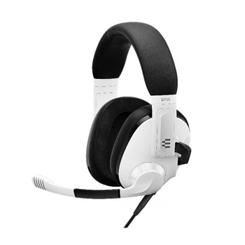 EPOS Gaming H3 Closed Back Gaming Headset - Ghost White Main Product Image