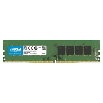 Crucial 16GB (1x 16GB) DDR4 2666MHz UDIMM Memory Main Product Image