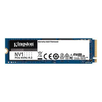 Kingston NV1 500GB PCIe 3.0 NVMe M.2 2280 SSD - SNVS/500G Main Product Image
