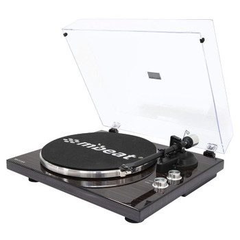 Mbeat Hi-Fi Bluetooth Turntable Player - Dark Wood Main Product Image