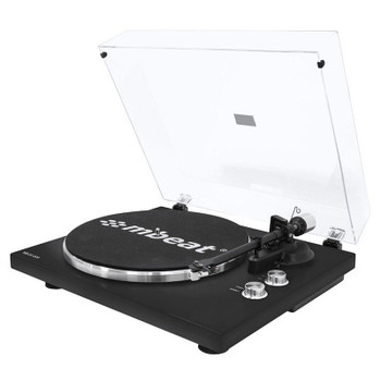 Mbeat Hi-Fi Bluetooth Turntable Player - Matte Black Main Product Image