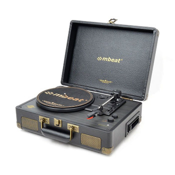 Mbeat Uptown Retro Bluetooth Turntable with Cassette Player Main Product Image