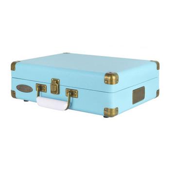 Mbeat Woodstock II Vintage Bluetooth Stereo Turntable - Blue Product Image 2