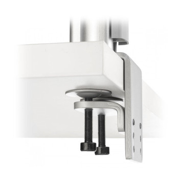 Atdec AWMS-2-LTH75 Post Mounted Dual Monitor Stand Kit - Silver Product Image 2