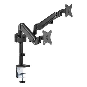 Brateck Dual Monitor Heavy-Duty Aluminium Gas Spring Monitor Arm - 17in-32in Main Product Image