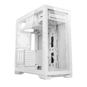 Antec P120 Crystal White Tempered Glass ATX Case Main Product Image