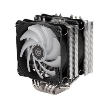 SilverStone Hydrogon HYD120-ARGB Dual Tower CPU Cooler Product Image 2