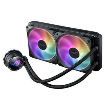 Asus ROG Strix LC II 280 ARGB AIO Liquid CPU Cooler - Black Main Product Image