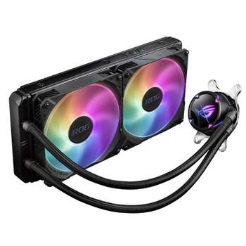 Asus ROG Strix LC II 280 ARGB AIO Liquid CPU Cooler - Black Product Image 2