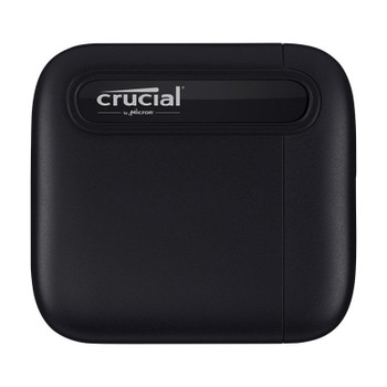 Crucial X6 500GB USB 3.2 Portable SSD CT500X6SSD9 Main Product Image