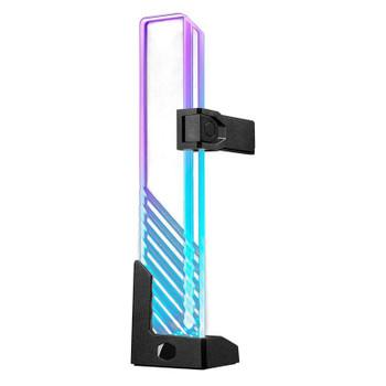 Cooler Master Universal ARGB Tempered Glass GPU Support Bracket Main Product Image
