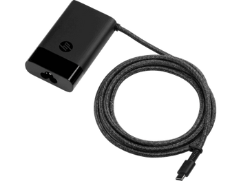 Product image for HP 65W USB-C Slim Power Adapter