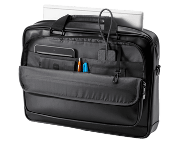 Product image for HP Executive 15.6in Leather Top Load Bag