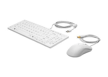 Product image for HP USB Keyboard And Mouse Healthcare Edition