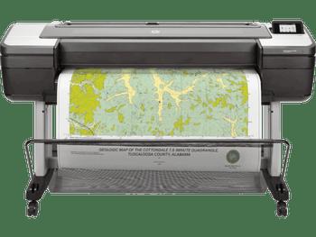Product image for HP DesignJet T1700 Postscript Printer