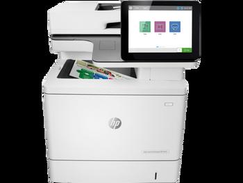 Product image for HP Laser Enterprise M578Dn Colour Mfp. Print - Copy - Scan - Fax. A4 - 38Ppm - Duplex - Network - 1YR