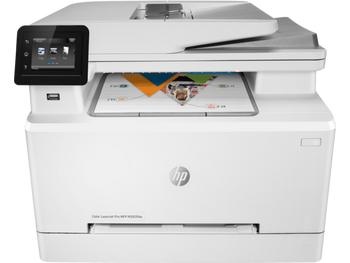 Product image for HP LaserJet Pro M283Fdw Colour Mfp - A4 - 21Ppm - Duplex - Wifi - Fax - HP 206 Series Toner
