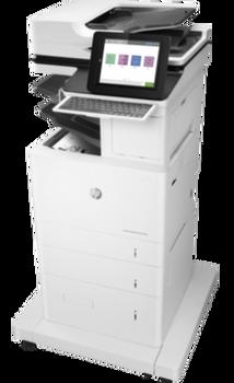 Product image for HP LaserJet Enterprise Flow M633Z Mono Mfp - A4 - 71Ppm - 4 Trays - Duplex - Wifi - Fax