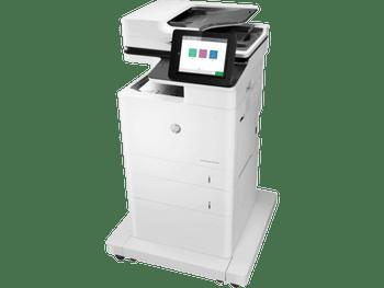 Product image for HP LaserJet Enterprise M635Fht Mono Mfp A4 - 61Ppm - 1200X1200DPi - Duplex - Network - Fax - 1YR