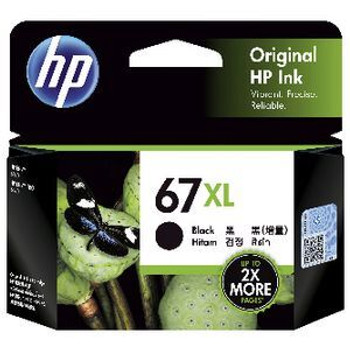 Product image for HP 67Xl Black Ink Cartridge