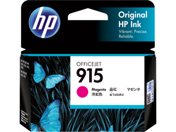 Product image for HP 915 Magenta Ink Cartridge