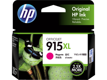 Product image for HP 915Xl Magenta Ink Cartridge