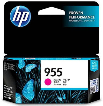 Product image for HP 955 Magenta Ink Cartridge