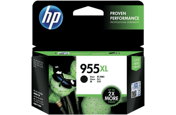 Product image for HP 955Xl Black Ink Cartridge