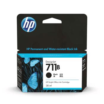Product image for HP 711B 38Ml Matte Black Ink Cartridge - T100 / T120 / T125 / T130 / T520 / T530