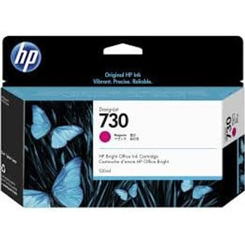 Product image for HP 730 130-Ml Magenta DesignJet Ink Cartridge - T1700 / New Sd Pro Mfp / T1600 / T2600