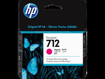 Product image for HP 712 29Ml Magenta DesignJet Ink Cartridge - T230/T250/T650/Studio