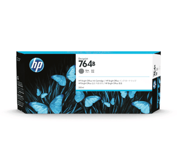 Product image for HP 764B 300Ml Gray DesignJet Ink - T3500