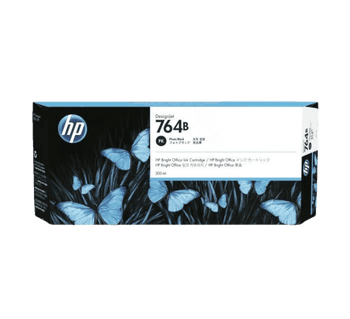 Product image for HP 764B 300Ml Photo Black DesignJet Ink - T3500
