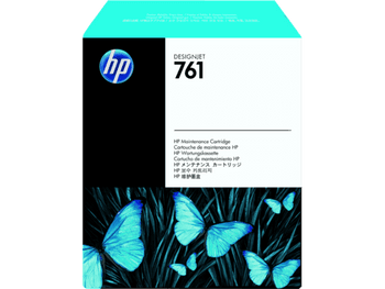 Product image for HP 761 DesignJet Maintenance Cartridge Ch649A - T7100/T7200